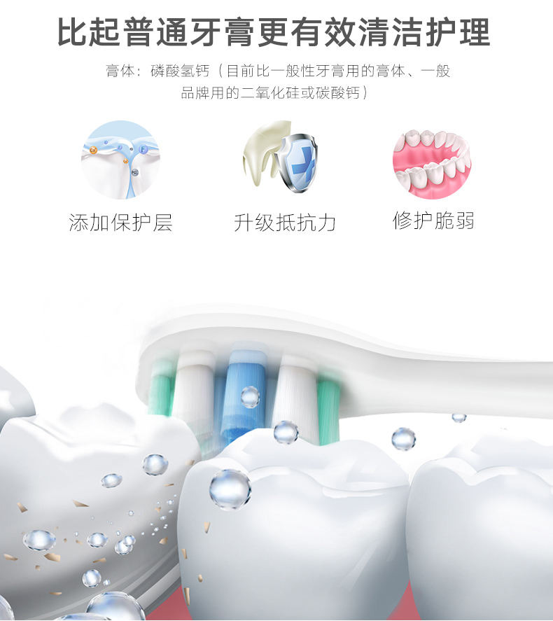 叶盐深井矿盐牙膏清洁抗敏去牙渍烟渍清凉降火养护牙龈