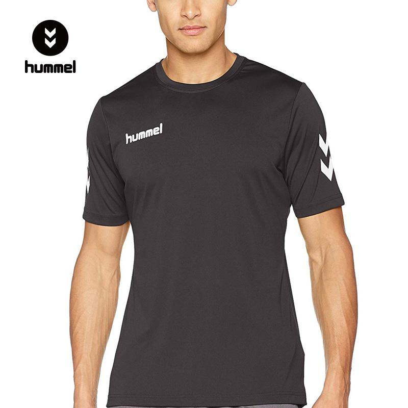 丹麦 HUMMEL 大黄蜂 修身款 男式运动训练T恤 天猫优惠券折后¥79包邮包税(¥139-60)2色可选