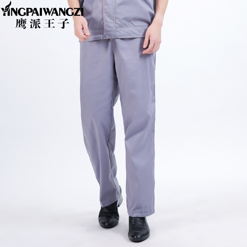 Hawk Prince summer breathable overalls pants large size loose wear and tear dirty work pants men's thin section of labor protection pants