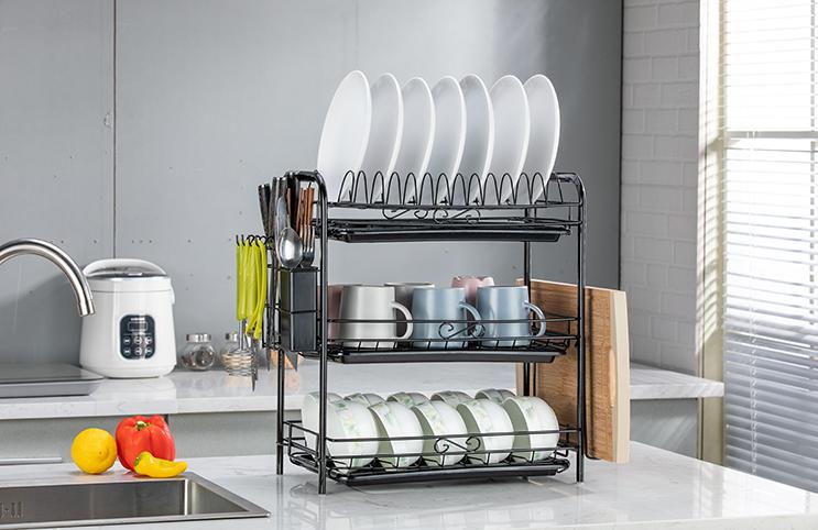 多样化厨房置物架,成就整洁厨房