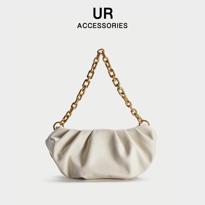 【UR】云朵饺子包包单肩手提包