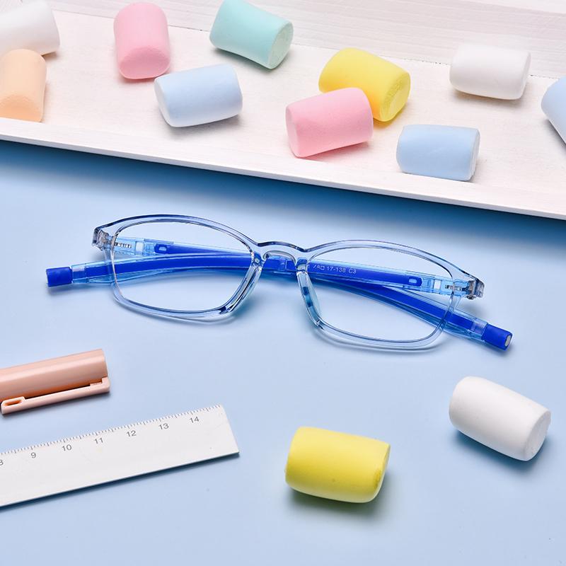 儿童防蓝光抗辐射疲护目镜配眼睛框