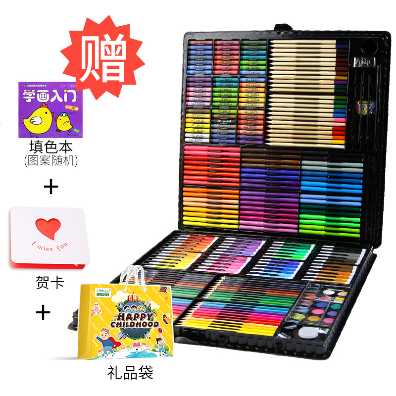 288 PAINTING SETS (BLACK)