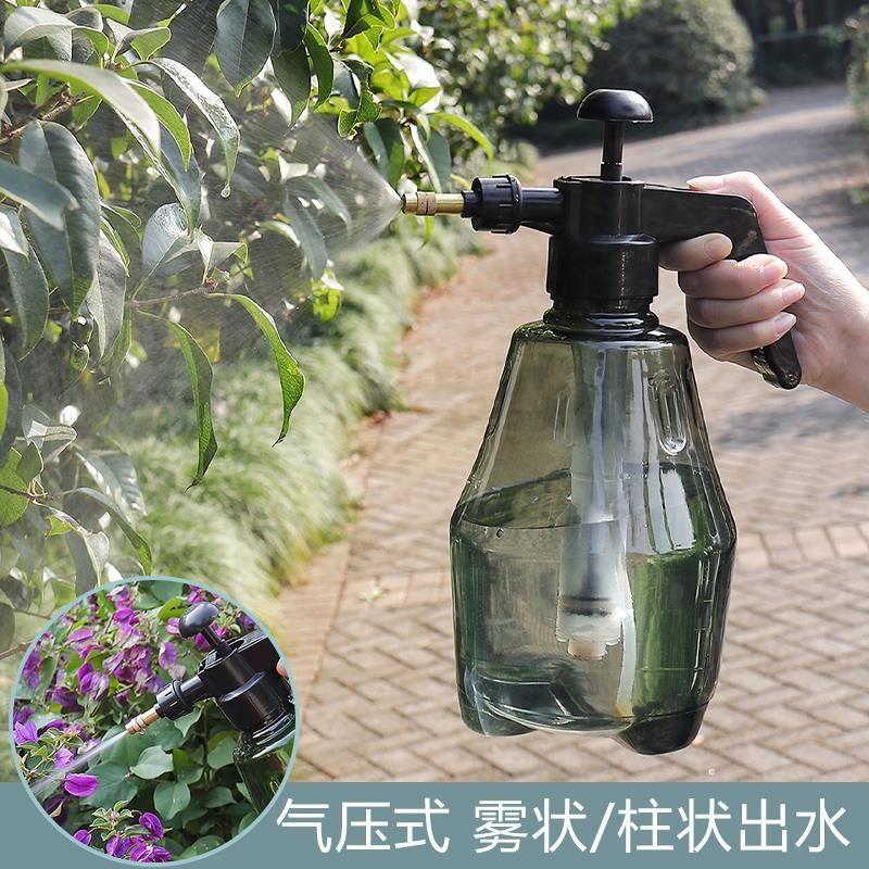 Watering bottle pressure capacity spray bottle household hand pressure cute new compression touch kettle sprayer