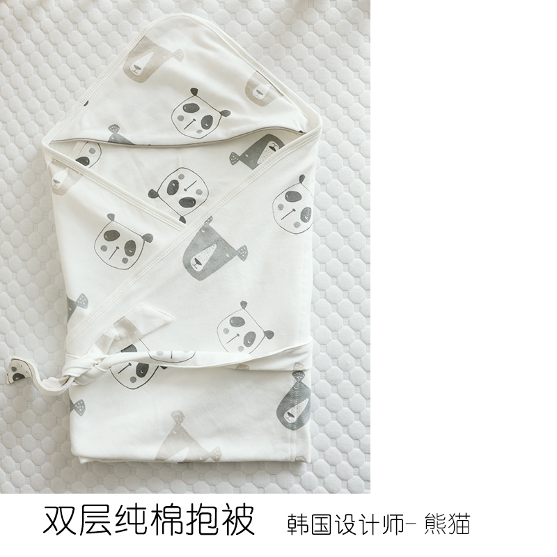 PANDA (COMBED COTTON DOUBLE LAYER WITH BELT)