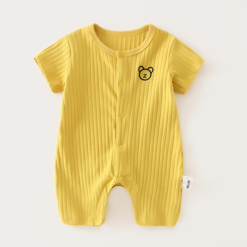 Short Sleeve Yellow Mickey Bear