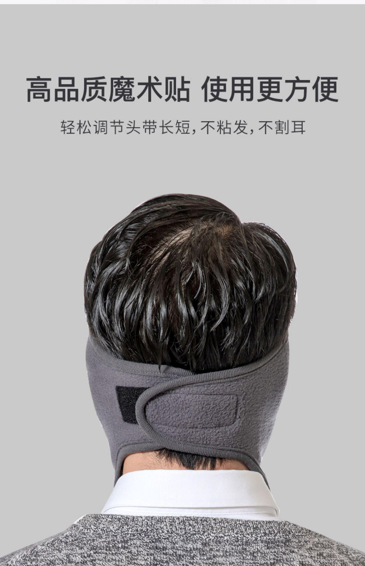 冬季口罩防尘透气女男冬天防寒保暖骑车全脸面罩骑行耳罩防风口造商品详情图