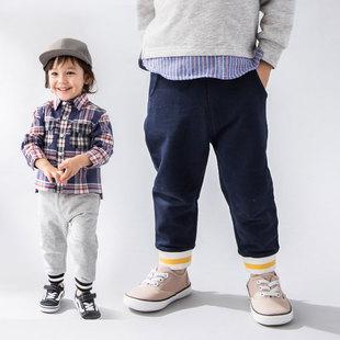 petitmain19春款针织裤儿童裤