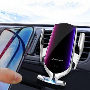 车载手机架无线充电器汽车用出风口智能快充感应苹果华为导航支架