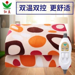 Red bean electric blanket double double-control thermoregulation single student dormitory three-person safe household increase electric mattress