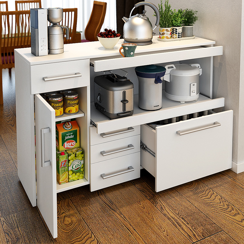 simple modern sideboard kitchen storage cabinet dining room
