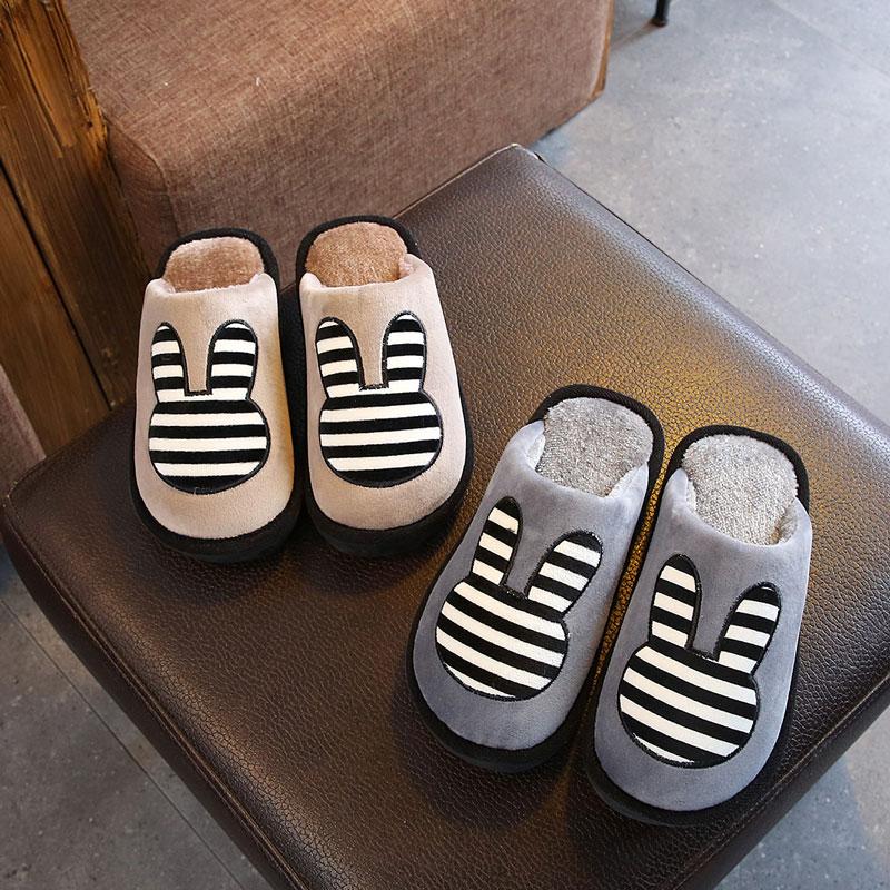 冬季男童大男孩棉拖鞋居家中大童男孩室内卡通棉拖鞋儿童8-15岁
