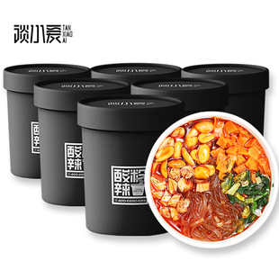 [6 barreled] Chongqing authentic products talk about little love hot and sour powder.