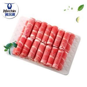 北京奥运会供应商 科尔沁 整切肥牛卷 500g*2袋 久涮不散 主图