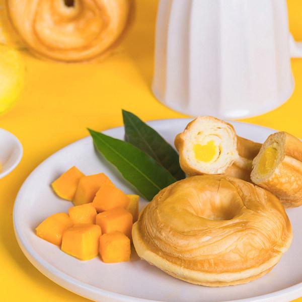 诺贝达 多拿圈 烘焙面包 420g*2件 双重优惠折后¥24.8包邮(拍2件)多味可选