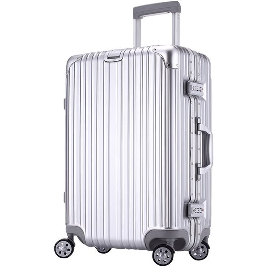 Luggage female student password box 28 inch universal wheel aluminum box travel trolley box 24 male leather box large capacity 26