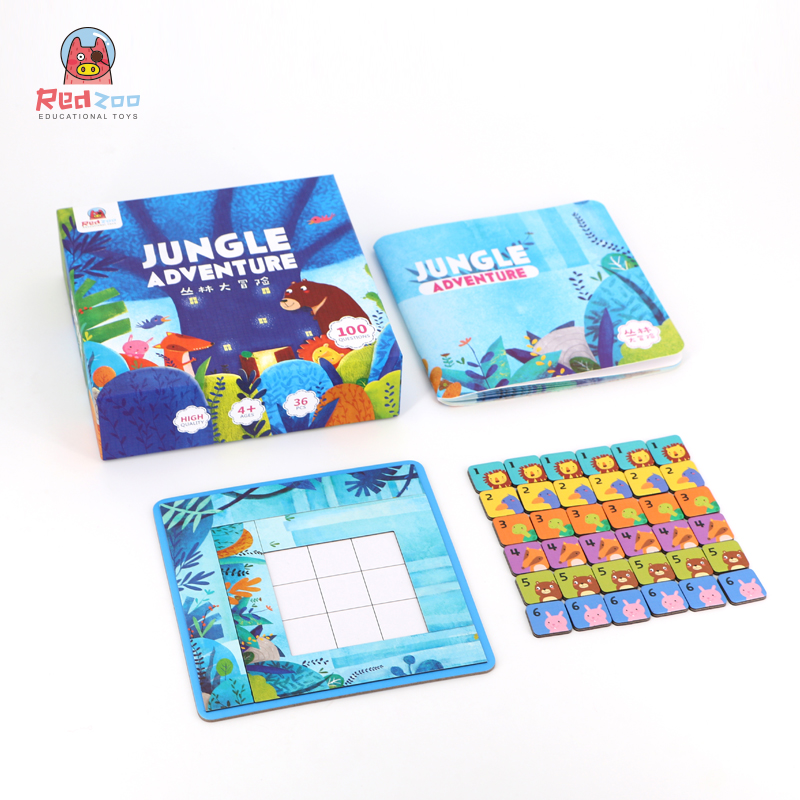 Jungle Adventure - Classic Sudoku, Reasoning Game