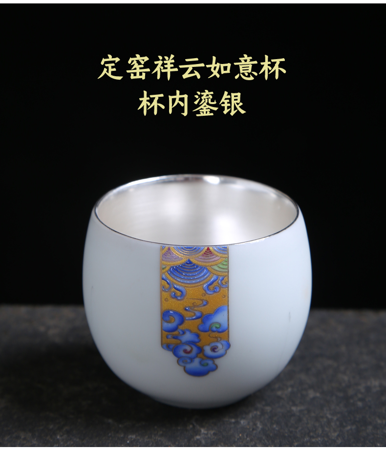 Japanese noggin up with inferior smooth personal single cup sample tea cup ceramic kung fu tea master cup tea cup