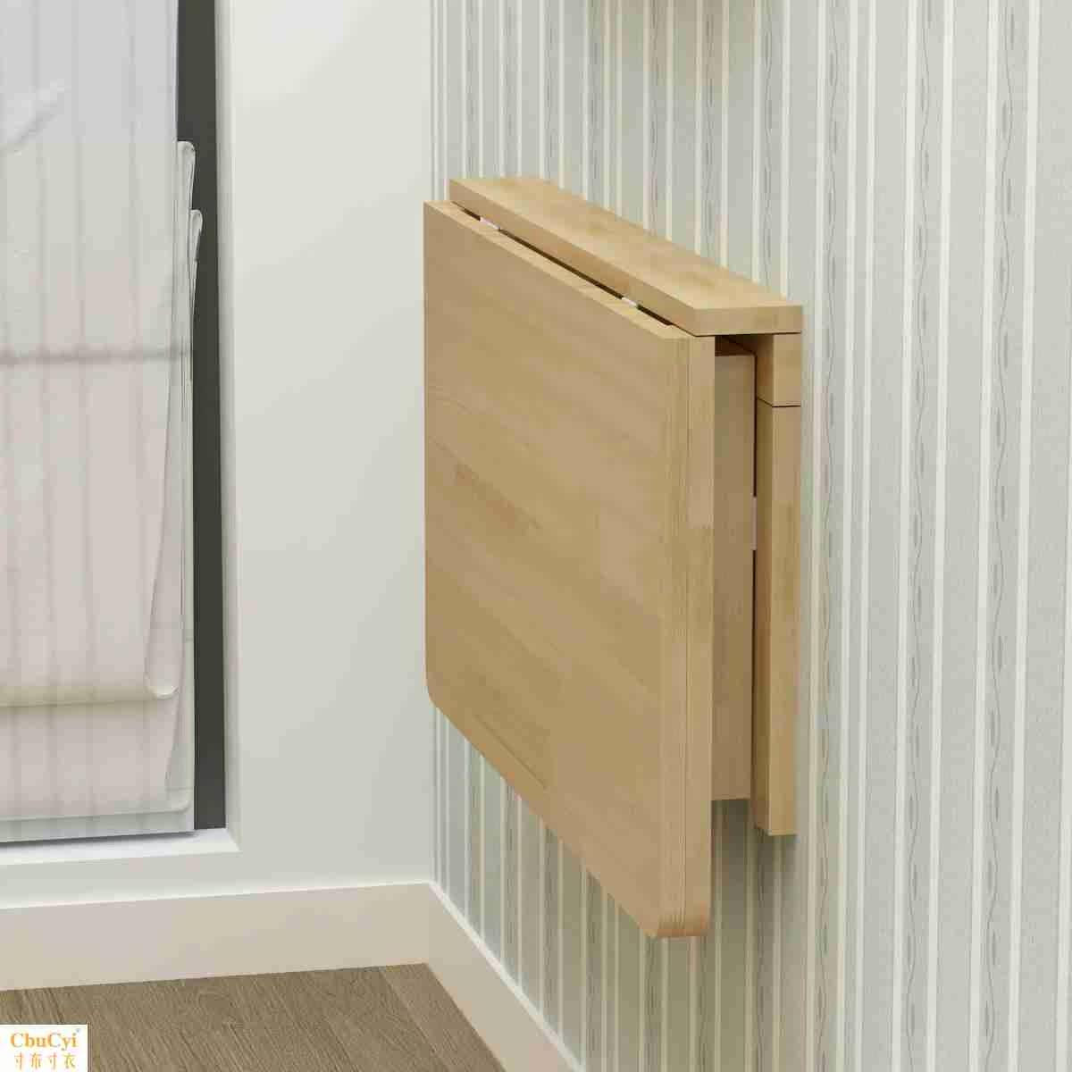 实木置物架书桌上小书架挂墙壁简易书架松木小书桌架定做书架
