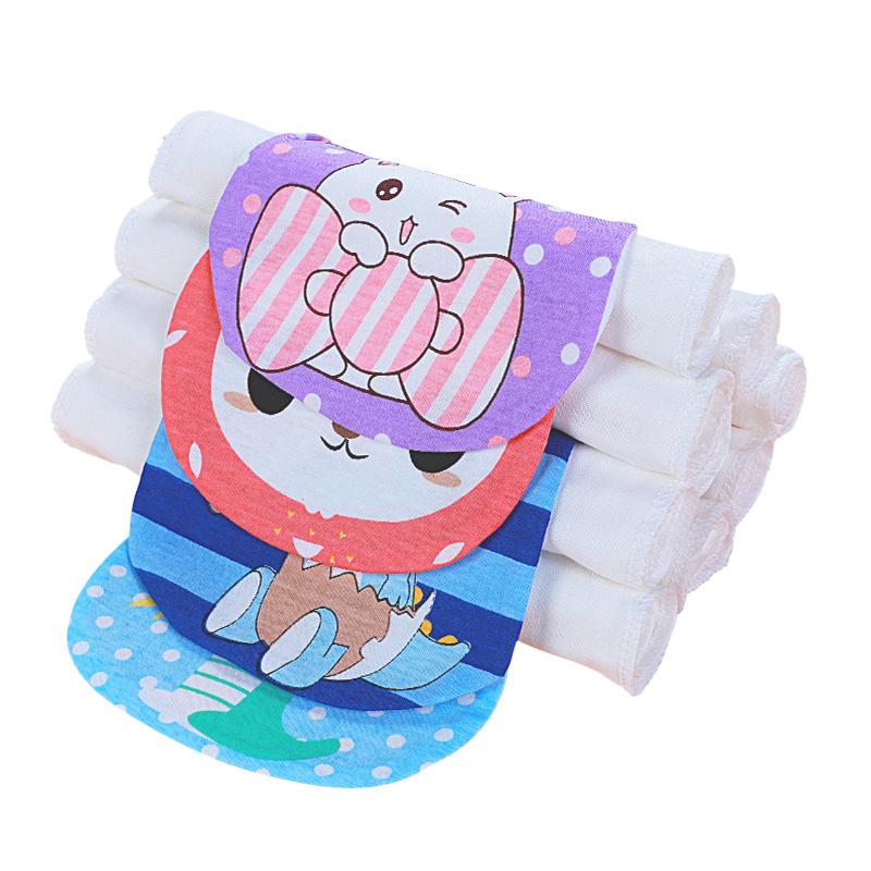 嬰兒童純棉領巾墊背隔汗毛巾寶貝吸汗巾幼兒園汗巾寶寶全棉吸干巾