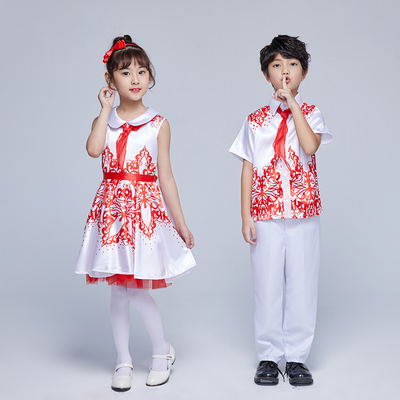 Children's Choir performance costumes, boys, girls, children, children's choirs, costumes