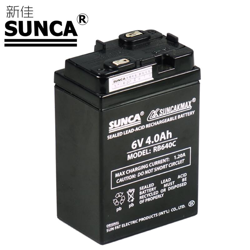 Аккумулятор для фонарика Sunca RB/640C RB640C 4AH 6v