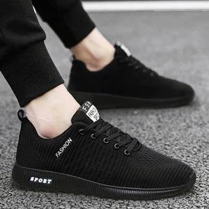 男鞋透气网鞋夏季新款软底板鞋男生韩版单鞋