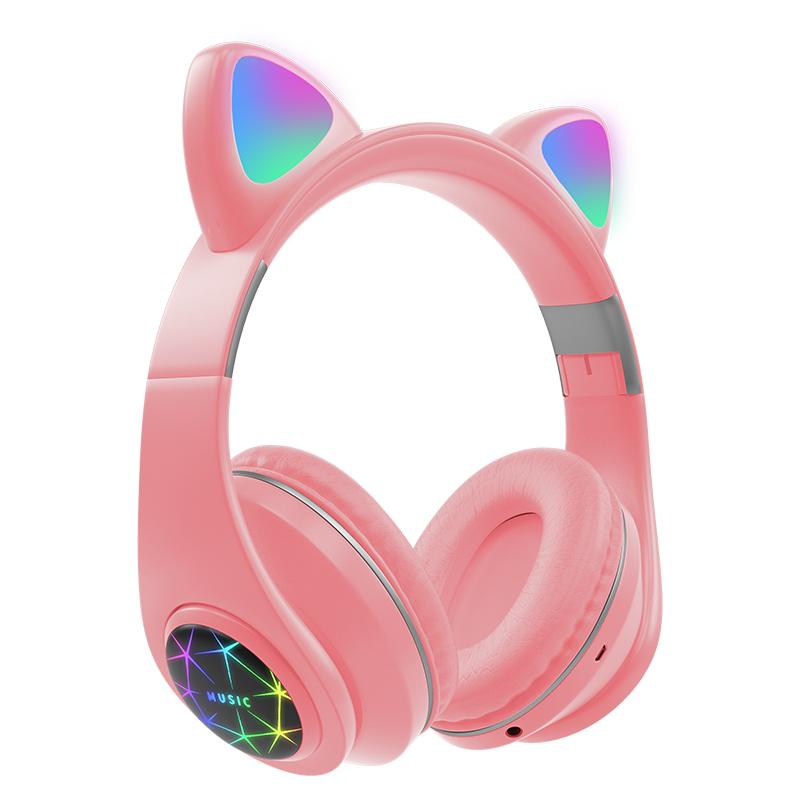 猫耳朵头戴式游戏音乐无线蓝牙耳机