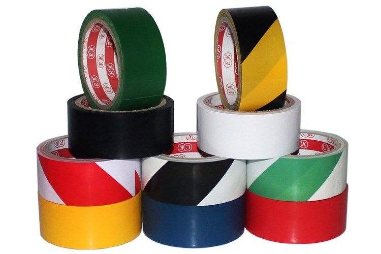Color tape painting badminton court tape basketball court drawing line tape football field marking tape