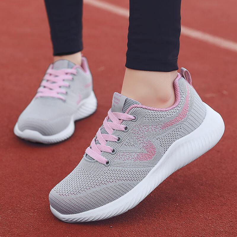 策域中年运动鞋超轻款女鞋夏季波鞋妈妈鞋旅游透气中老年人健步鞋