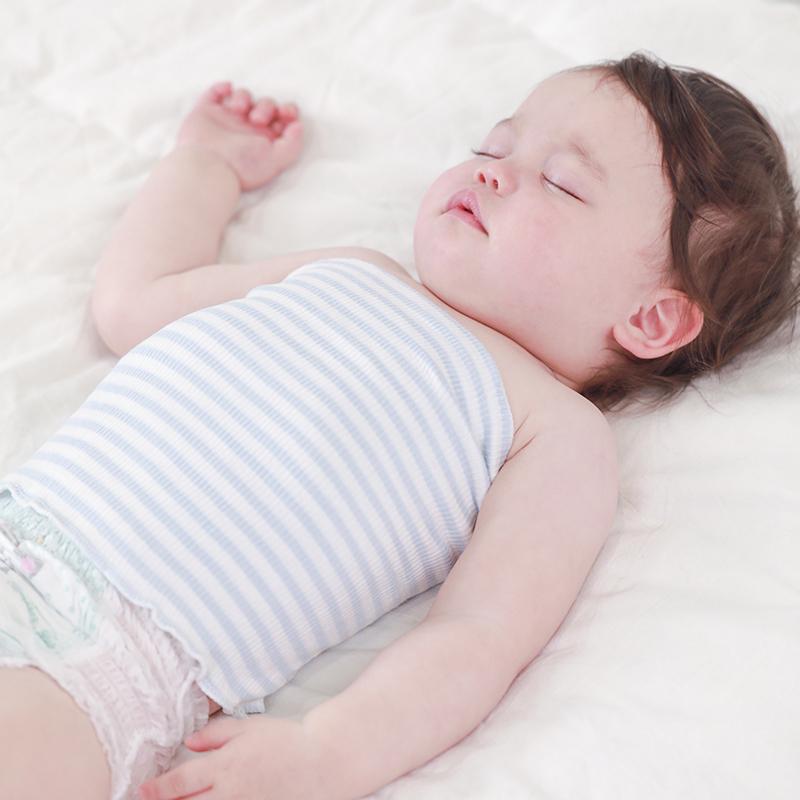 【温暖舒适护肚脐!】婴儿纯棉护肚围3条