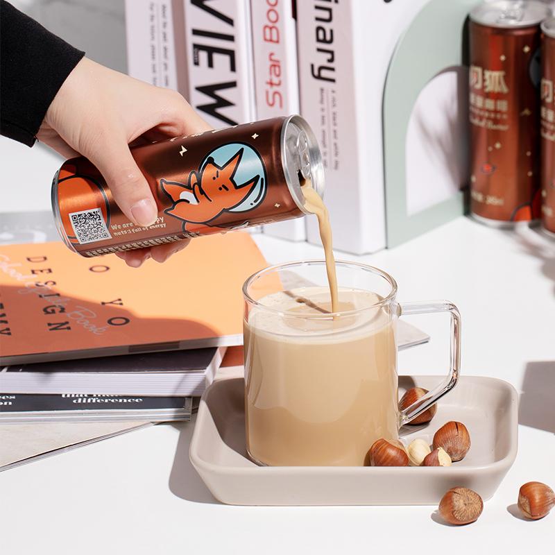 闪狐 无蔗糖能量咖啡 防弹咖啡 245ml*6罐 天猫优惠券折后¥29包邮(¥54-25)