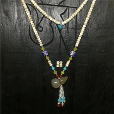 Ожерелье четки Тибет прямой Син-юе волос