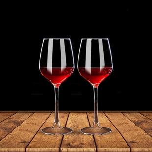 【青蘋果】歐式無鉛玻璃高腳紅酒杯