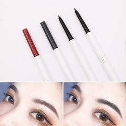 她素tasu细芯双头眉笔防水不易脱色自然持久初学者黑灰红棕色