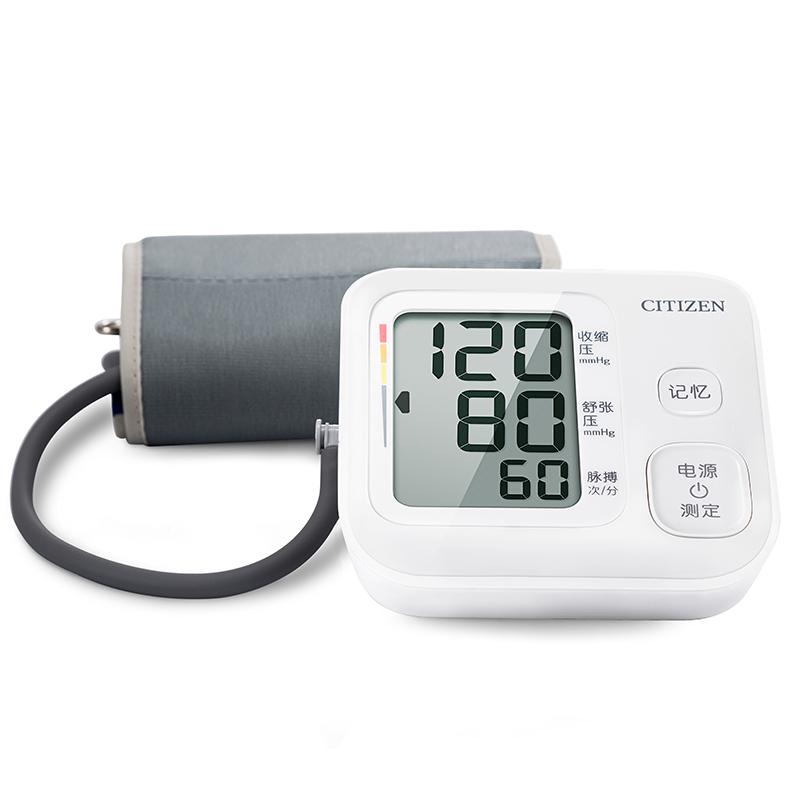 日本西铁城/CITIZEN家用大屏幕电子血压计上臂式一键测量血压仪_天猫超市优惠券