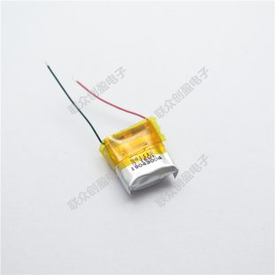 3.7V polymer lithium battery 501010 501012 50mah I7 Bluetooth headset small device battery
