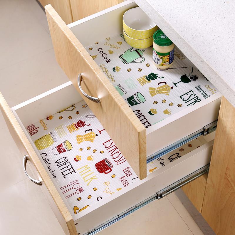 创意家居厨房用品用具小百货生活大全家用抽屉橱柜里面垫纸多用途