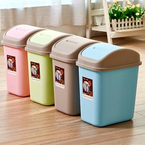云立洁丨买2发3 带盖大号垃圾桶