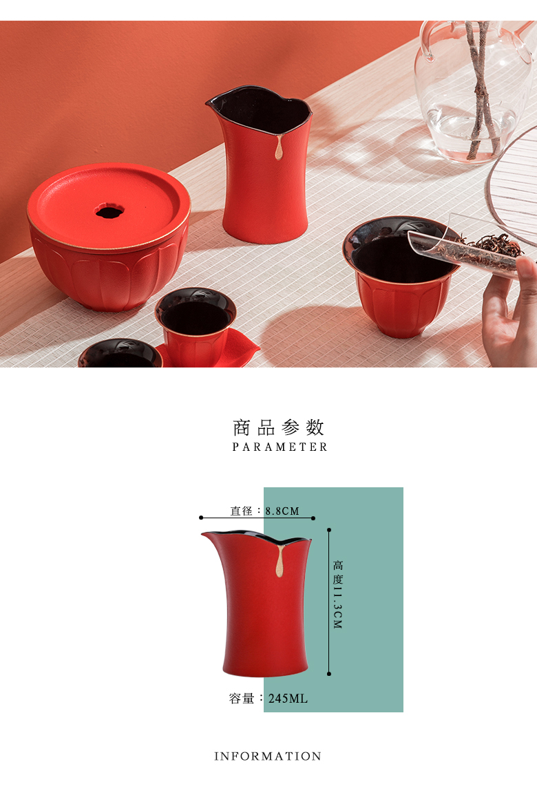 "The Self - ""appropriate content jingdezhen ceramic fair keller Japanese simple pure color points tea ware and CPU) cup tea cups"