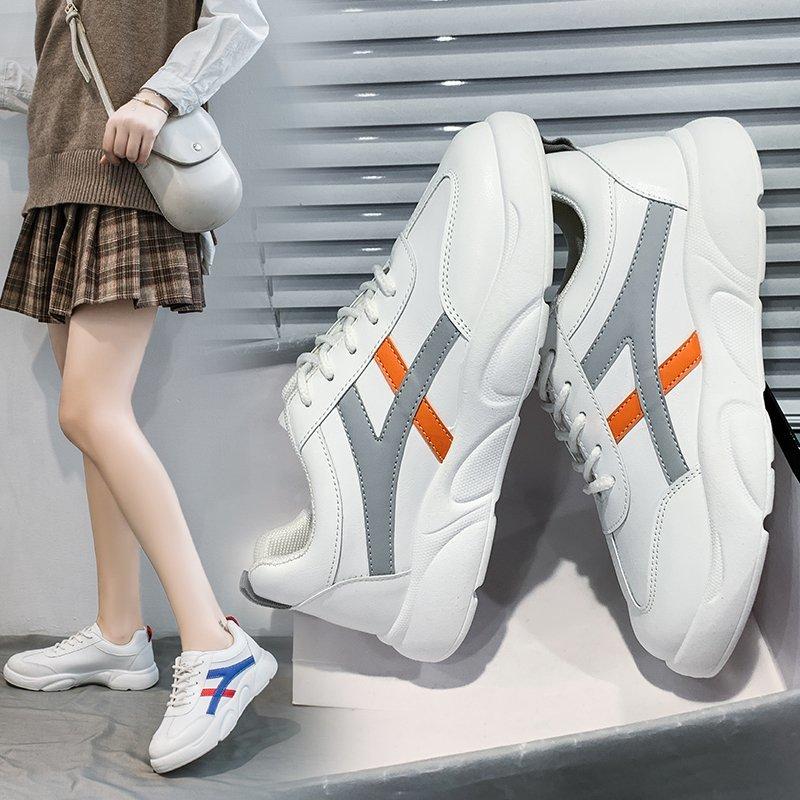 学生百搭板鞋休闲运动鞋舒适小白鞋