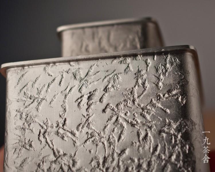 手作良品 云南个旧名师作品纯锡茶叶罐 密封罐 锡罐 茶道茶具配件商品详情图