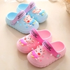 Piggy Pecs Children's sandals and slippers Cute Baby Slippers Summer Indoor Non-slip Child Tongue Hole shoes Girls