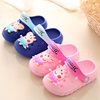 Pig Peggy Children's Sandals and Slippers Cute Baby Slippers Summer Indoor Slip Small Children's Soft Bottom Shoes Girls