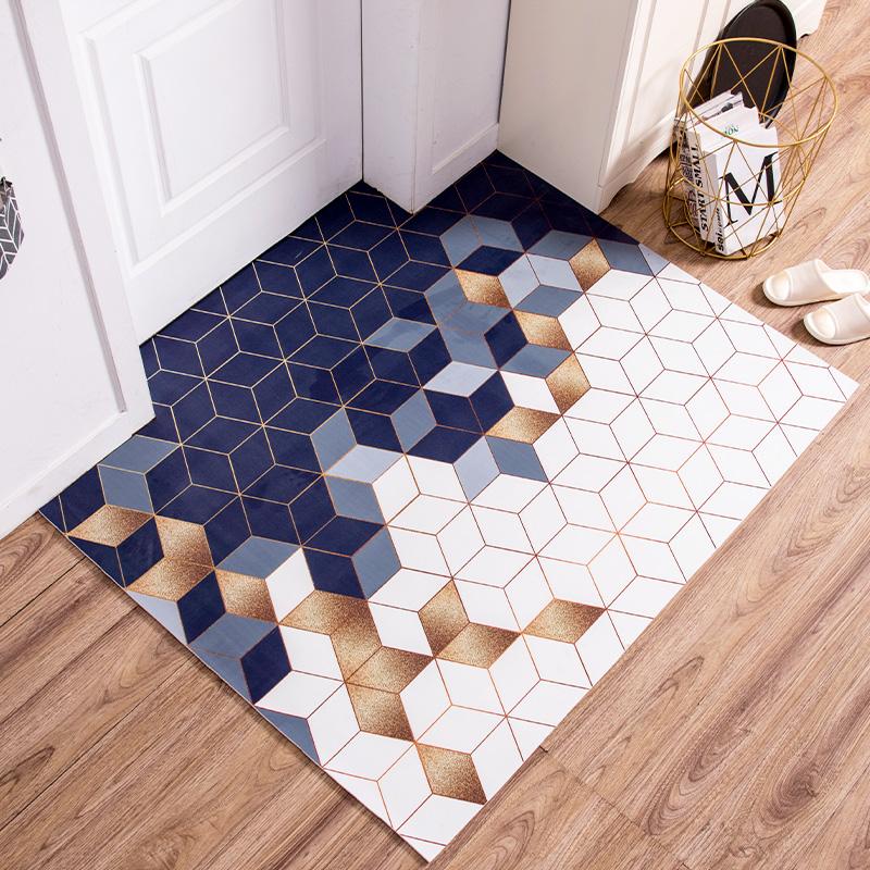 入户门地垫门垫可擦免洗北欧进门脚垫子家用pvc防水防滑玄关地毯