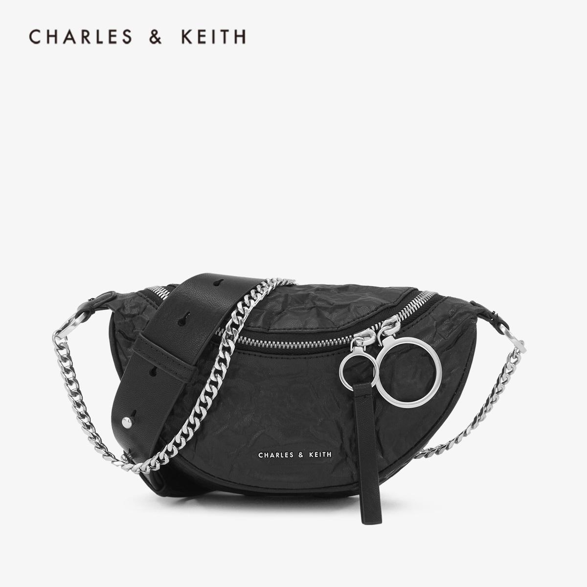 CHARLES&KEITH2019秋季新品CK2-80150844手提单肩包腰包女