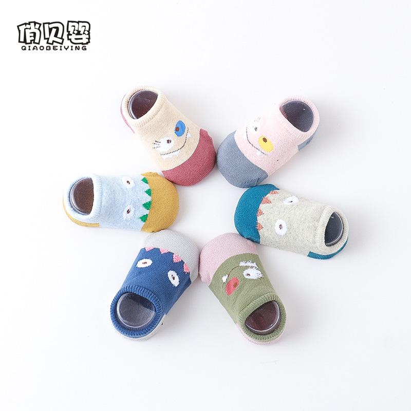 宝宝地板袜秋冬加厚防滑婴儿袜