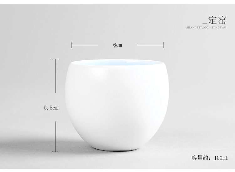 Hand your up ceramic cup tea set upright cup sample tea cup profusion master cup personal cup single cup bowl