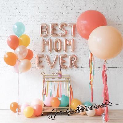 36英寸圆形气球周岁生日派对装饰粉色大气球婚礼婚庆结婚布置用品