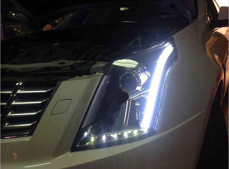 For Cadillac Srx 2010 2015 Assembly Composite Headlight